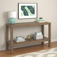 Image Is Loading Console Table For Living Room Storage Bottom Shelf