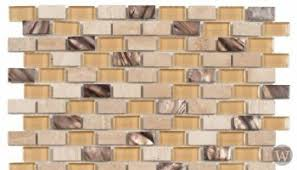 Atlantic Shell Stone Tile by Bati Orient Marble Stone Tile