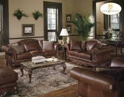Dark Brown Leather Couch Living Room Ideas by Leather Living Room Decorating Ideas Brown Leather Sofas In Living