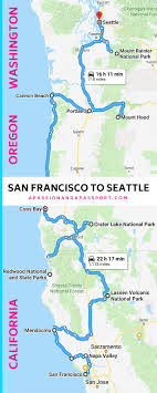 100 Cabins At Mazama Village San Francisco To Seattle Road Trip Itinerary The Pacific