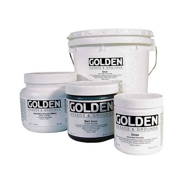 Golden Acrylic Gesso Medium - 473ml