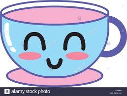 Kawaii Cute Happy Coffee Cup