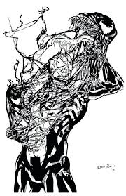 Venom Spiderman Coloring Pages Print 3 Free And Carnage