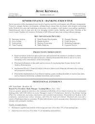 Sample Resume Banking Resumes Bank Jobs No Experience Sales