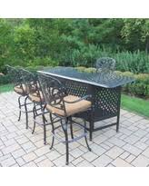 5 Piece Bar Height Patio Dining Set by Spectacular Deal On Oakland Living Hampton 5 Piece Party Bar