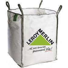 sac à gravats big bag 1m3 leroy merlin