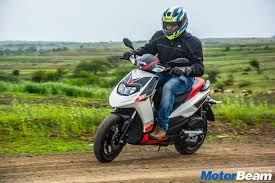 Aprilia SR 150 Review First Ride