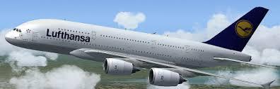 Lufthansa Airbus A380 Demo for FSX
