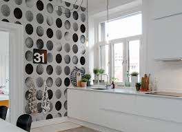 tapisserie pour cuisine tapis de cuisine pour deco pour mur de cuisine génial papier peint
