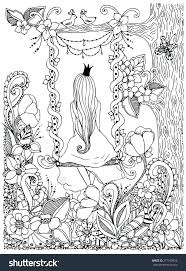 Enchanted Learning Coloring Pages Forest Colouring Book Finished