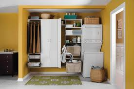 Bathroom Floor Plans With Washer And Dryer by Nice Yellow Nuance Of The Modern Bathroom With Washer And Dryer