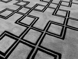 casa padrino luxus teppich aus neuseeland wolle grau schwarz 170 x 240 cm handgetufteter wohnzimmerteppich