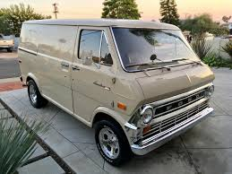 100 Econoline Truck For Sale 1972 Ford Van With A 50 L V8 Engine Swap Depot