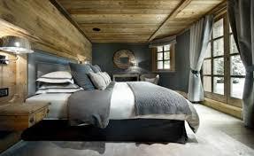 schlafzimmer vorhänge bettdecke neutrale wandfarbe