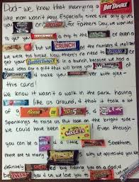 I Shower With My Dad by Weddings Check Out The Candy Letter I Made For My Dad On Father U0027s