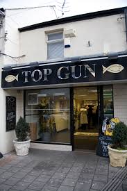 Top Gun Fish Bar - Cardiff | Food & Drink The Aviator Sunglasses Guide Gentlemans Gazette Top Gun Turns 30 Biographycom Harley Prof Gregs Leaps Takeleapscom Holly Martin Zephs Bar Cart Grey Walmartcom Laserdisc Ebay West Village Movie Night Uptown Dallas Inc A Florida Range Wants To Serve You Beer With Your Bullets 2 Flies Into 2019 Release Date Burgers And Steak Two More Hal Joints In Weekend Peace Be Me