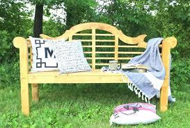 diy lutyens outdoor garden bench
