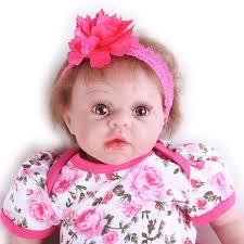 NPK 11 Inch 28cm Reborn Baby Soft Silicone Doll Handmade Lifelike