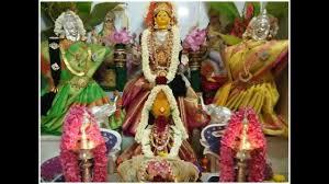 Varalakshmi Vratham Decoration Ideas by Varamahalakshmi Festival Alankaram Decoration Youtube