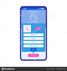 Job Searching Smartphone Interface Vector Template. Mobile ... This Is Why Free Resume Realty Executives Mi Invoice And Creddle 8 Cheap Or Builder Apps App Design Adobe Xdsketch Freebies On Student Show Cv Maker Pdf Template Format Editor For Online Enhancvcom The Best Fast Easy To Use Try Create A Perfect Now In Pin Ui Ux Designs Ireformat Guide How Do Automated Formatting Web V2 By Rikon Rahman 30 Examples Creative Gallery Popular