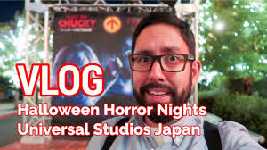Halloween Horror Nights Express Pass by Vlog Halloween Horror Nights At Universal Studios Japan Youtube