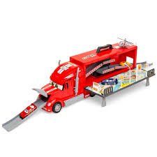 100 Semi Truck Toy Best Choice Products Transport City Car Carrier W 3 Cars Construction Signs Slides