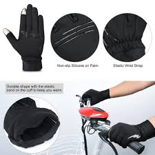 amazon com vbiger winter gloves touch screen gloves outdoor