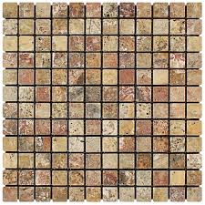 Valencia Scabos Travertine Tile by Mosaic Tiles Travertine Ledger Stone Panel Tiles In Dallas