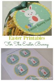 Easter Printables For The Bunny