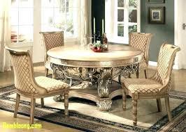 Round Formal Dining Room Table Elegant Sets Tables