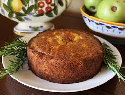 Rustic Apple Cake With Rosemary Syrup I Have Been Scouting Around For Recipes That Include Apples To Celebrate Our Farmhouse In Umbria Named Il Casale Di