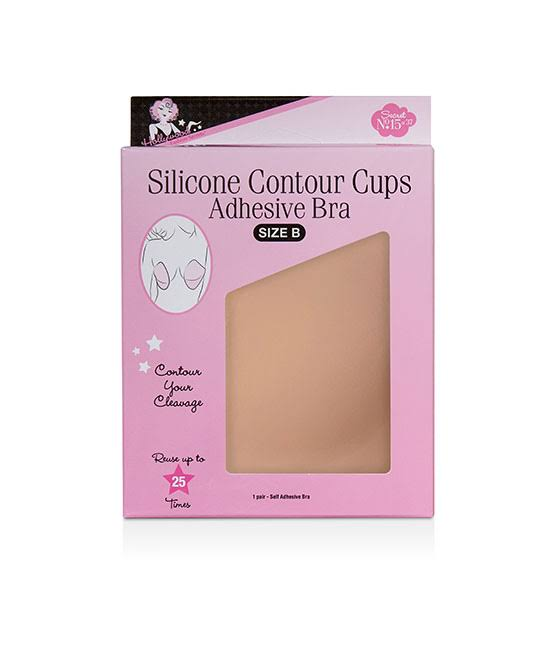 Hollywood Fashion Secrets Silicone Contour Cups Size B