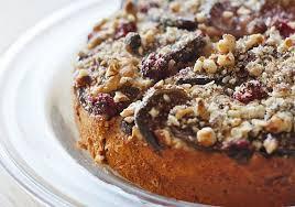 Fig Hazelnut And Raspberry Cake