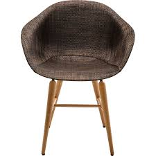 Forum Wood Chair With Armrest