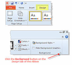 An Easy Guide To Using Background Colors And Graphics In PowerPoint 2010