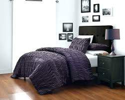Purple Velvet King Headboard by Duvet Covers Handsome Emerson Pinched Pleat Comforter Set With 4