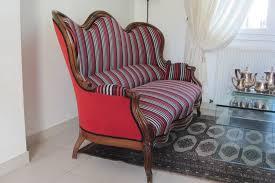 restaurer un canapé louis philippe côté sièges tapissier à brest restauration