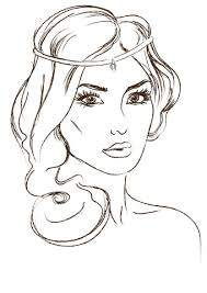Click To See Printable Version Of Gorgeous Princess Coloring Page