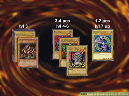Fun Yugioh Deck Archetypes by How To Construct A Yu Gi Oh Deck 11 Steps With Pictures