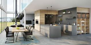 Neutral Color Tones And Brown Colors Of Natural Wood Modern Kitchen Design Trends