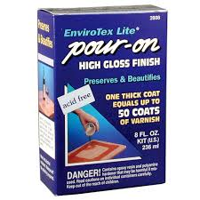 Easy Heat Warm Tiles Menards by Envirotex Lite Pour On High Gloss Finish