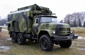 100 Zil Truck P240TMN Signals Truck ZiL131 Chassis Cold War Military Systems