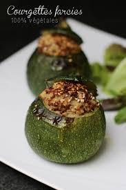 cuisiner courgette ronde courgettes rondes farcies au quinoa sans gluten vegan cookismo