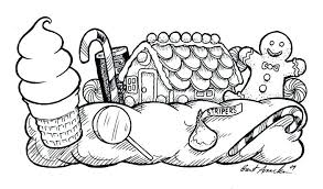 Excellent Awesome Candyland Coloring Sheets Online Amazing Pages