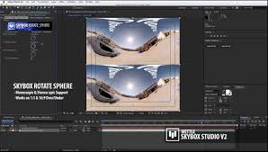 SNEAK PEEK 5 SkyBox Studio Version 2 Stereo 360 Support