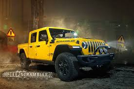 100 Jeep Truck Renderings Posted Of 2019 Scrambler Pickup Medium Duty Work
