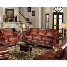 Sams Club Leather Sofa And Loveseat by Steve Silver Escher 4 Piece Living Room Set In Coffee Bean Leather