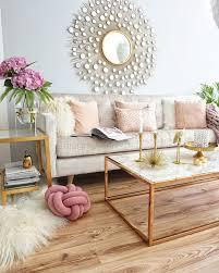 neue vase in gold wohnzimmer einrichten dekor für kleine