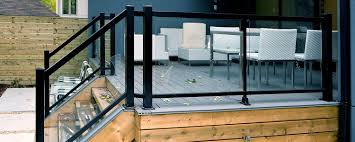 Glass Railings For Decks : Glass Deck Railing Decoration – The ... Glass Stair Rail With Mount Railing Hdware Ot And In Edmton Alberta Railingbalustrade Updating Stairs Railings A Split Level Home Best 25 Stair Railing Ideas On Pinterest Stairs Hand Guard Rails Sf Peninsula The Worlds Catalog Of Ideas Staircase Photo Cavitetrail Philippines Accsories Top Notch Picture Interior Decoration Design Ideal Ltd Awnings Wilson Modern Staircase Decorating Contemporary Dark