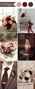 Burgundy Is A Very Beautiful Wedding Color For Your Big Day You Can Add